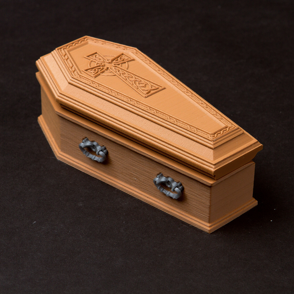 Multi purpose chest - Dracula Coffin
